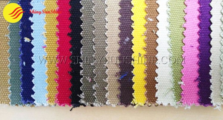 Canvas material color swatch