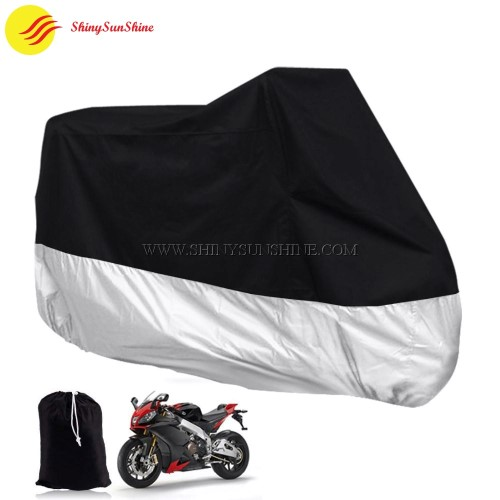 Custom logo nylon outdoor waterproof motorcycle cover bags.
