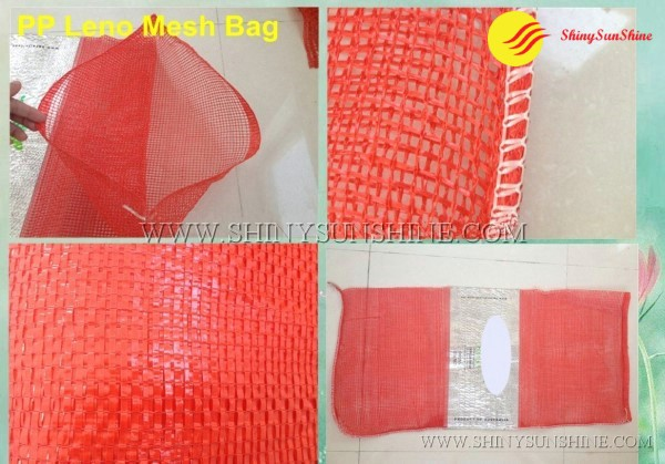 Shiny SunShine Custom PP Leno mesh bags for food packaging