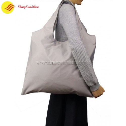 cefa14be5 Custom Eco-friendly foldable polyester wholesale tote bags with handles.