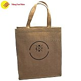 Custom Wine jute bags travel bag