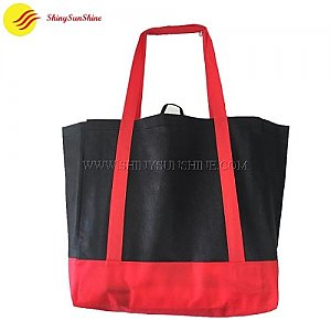 Custom foldable non-woven tote shopping bags