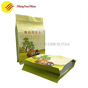 Custom food grade flat bottom bags