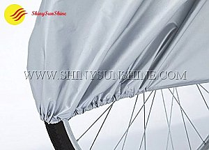 Custom wholesale protective folding 190T nylon outdoor waterproof bicycle bags.