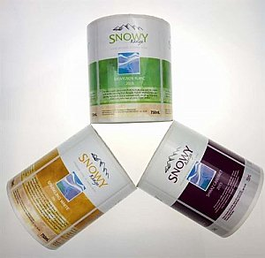 Custom printed labels roll self-adhesive sticker.