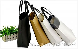 Shiny SunShine Custom paper shopping bags with logo design.