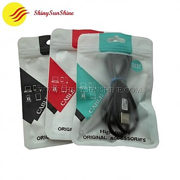 Custom anti-static laminated aluminium foil packaging bags.